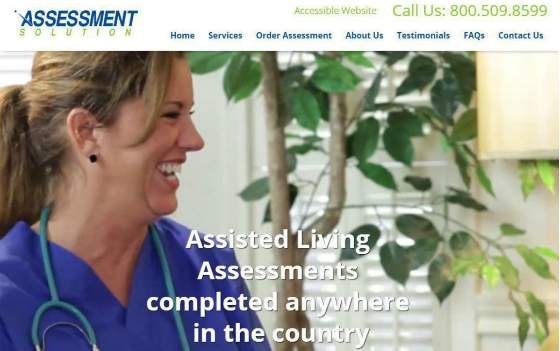 Assessment Solution Homepage. This link opens new window.