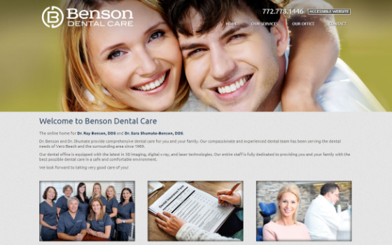 Benson Dental. Opens new window.