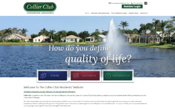 The Collier Club. This link opens new window.