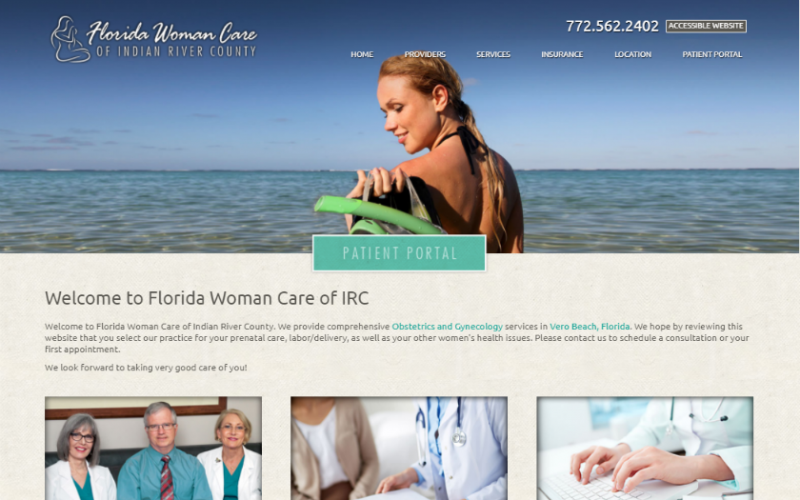 Florida Woman care  homepage