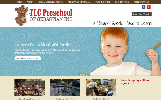 Visit TLC Preschool. This link opens new windows.